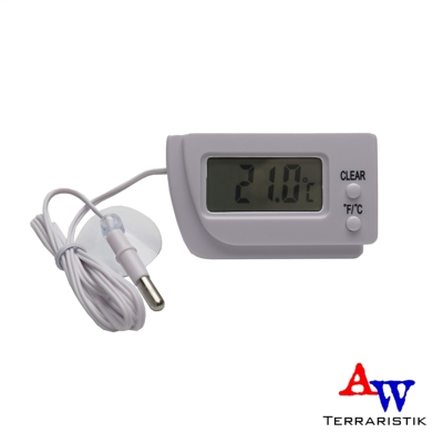 aw terraristik digitales thermometer mit f hler. Black Bedroom Furniture Sets. Home Design Ideas