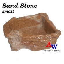 DRAGON Rock bowl - Felsschale - sand stone - small - ca. 60ml
